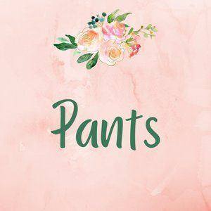Pants Various Designers